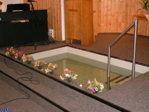 Taufe am Galgenteich